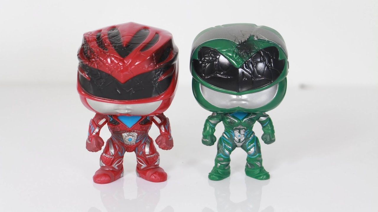 e9c226a345e Funko pop Toys R US exclusive Power Rangers (2017) Movie 2 pack Rita    Zordon review