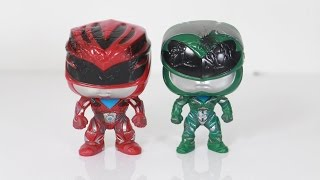 Funko pop Toys R US exclusive Power Rangers (2017) Movie 2 pack Rita & Zordon review