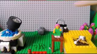 Lego clash of clans attack/builder base- stop motion
