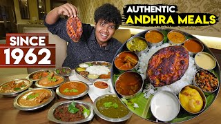 Authentic Andhra Meals in New Andhra Meals, Chennai - Irfan's View
