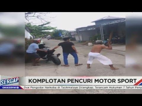 Video Warga Tangkap Pencuri Moge Yang Berusaha Kabur Di Palangkaraya - Sergap 18/03