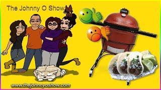 "Ep. #510 Kamado Joe - Carne Asada Tacos - Cooking ""Caveman Style"""