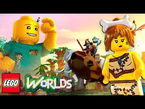 #2 LEGO Worlds Прохождение Игры - Nintendo Switch - Игра про Мультики ЛЕГО - КокаПлей