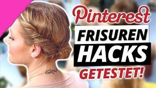 PINTEREST FRISUREN HACKS im LIVE TEST - MakeUp Mythbusters mit Wonderwall