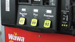 Бензин в Америке: октановое число