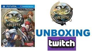 YS:Memories Of Celceta - Sony Playstation Vita (PS VITA) - UNBOXING