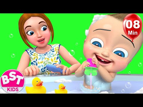 Babies Bath Time | +More BST Kids Songs