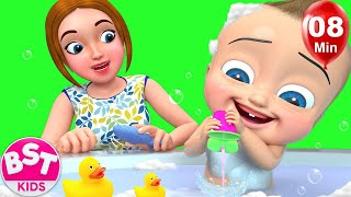 Babies Bath Time | + More Kids Songs | Billion Surprise Toys