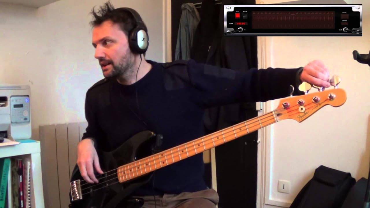 Cours de basse débutant - Comment accorder sa basse by ...