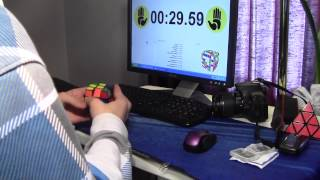 1:29.45 Cutter Cube Solve