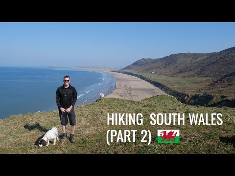 HIKING SOUTH WALES   RHOSSILI BEACH   WORMS HEAD (Part 2) [AD]
