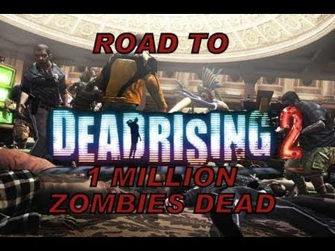 challenger 1 million zombies killed dead rising 2 part1. Black Bedroom Furniture Sets. Home Design Ideas