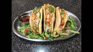 Taco Bell Nacho Cheese Chalupas Recipe/Cooking & Eating Sounds- ASMR