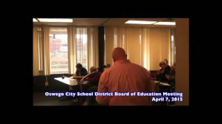 Parent Advocate given floor at Central NY Board of Ed Meeting