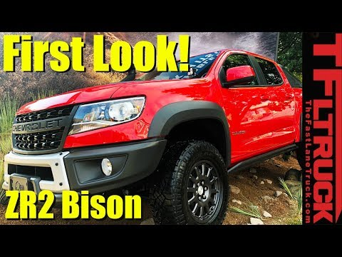 2019 Chevy Colorado ZR2 Bison: See It Up Close and Personal!