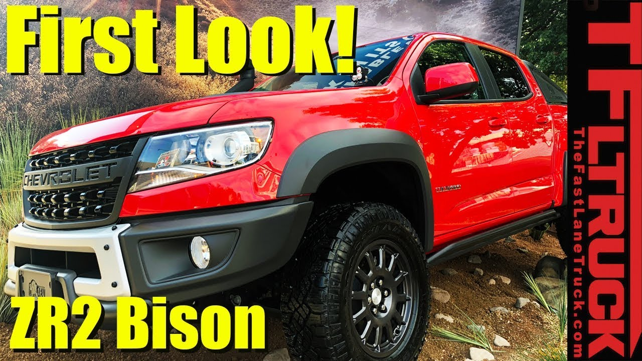 2019 Chevy Colorado Zr2 Bison See It Up Close And Personal Youtube