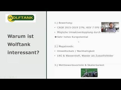Unternehmensanalyse Wolftank-Adisa AG