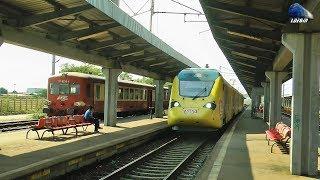 Trenuri/Trains/Züge in Gara Ploiesti Vest Station - 07 August 2017