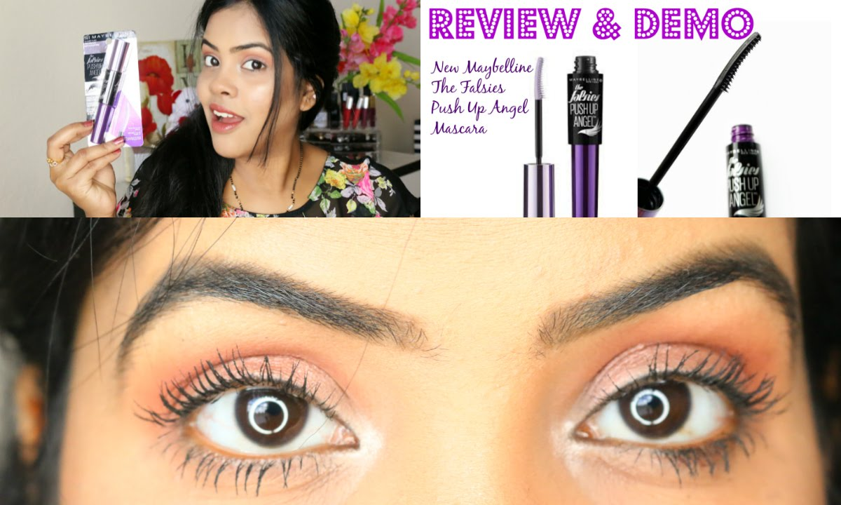 1c6b324c17e New Maybelline The Falsies Push Up Angel Mascara Review & Demo - YouTube