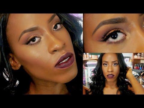 Everyday Beginners Makeup Tutorial For Black Women