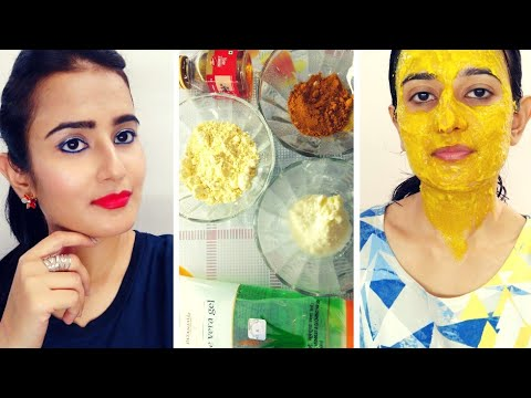 Homemade Face Pack For DRY SKIN|Natural Ingredients|Get Glowy, Soft & Smooth Skin | SWATI BHAMBRA