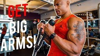 The Best Arm Workout EVER! (INSANE PUMP!)