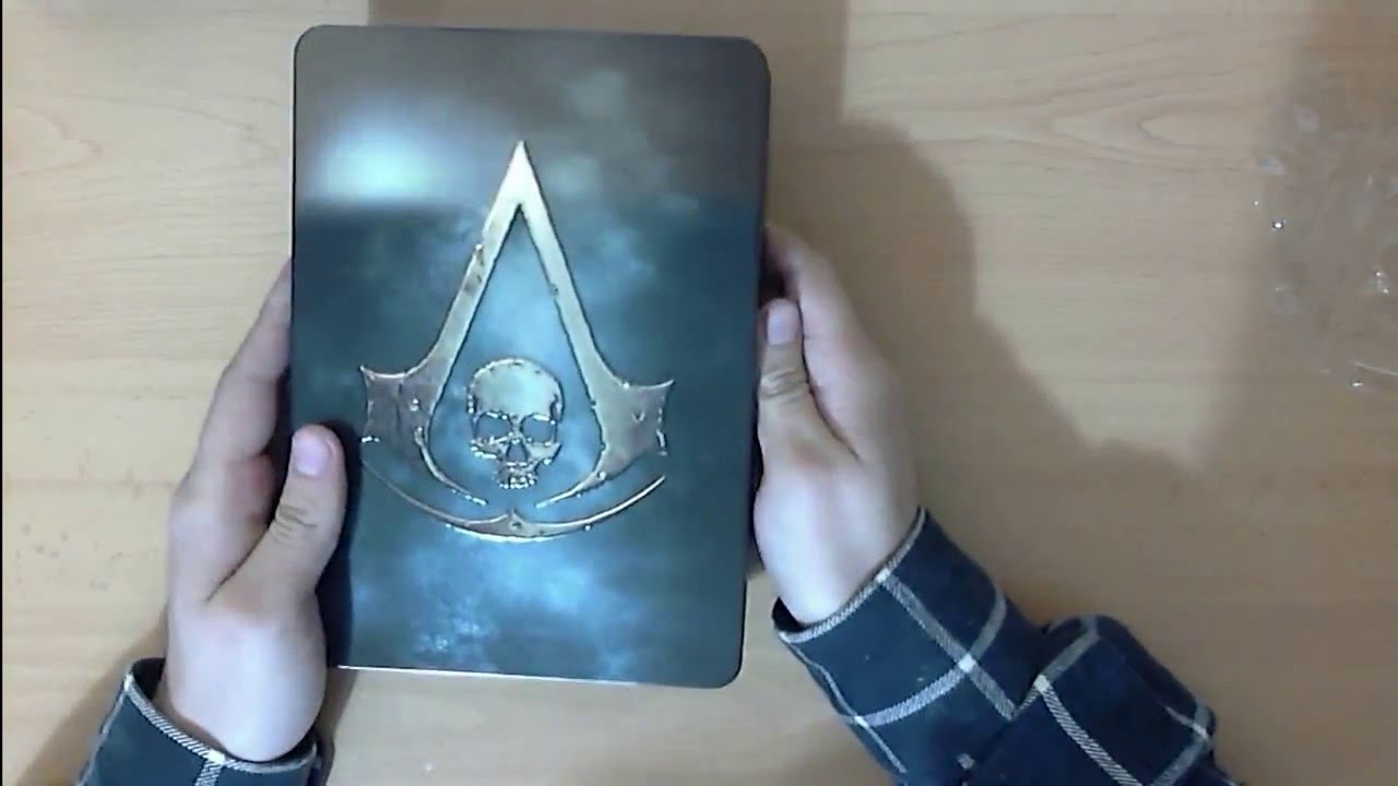 Unboxing Assassin S Creed Iv Black Flag Skull Edition Para Ps4