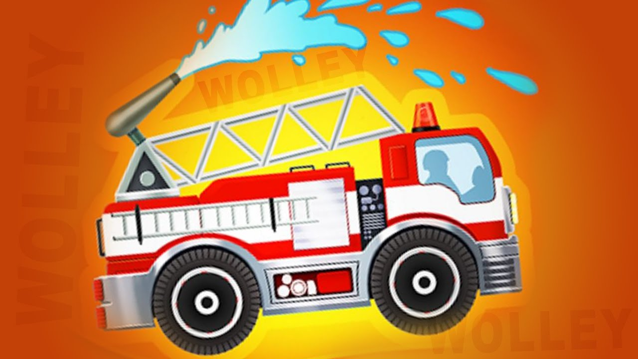 Fire Truck Firefighter Cars For Kids Emergency Car Racing Hero