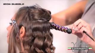 Плойка для завивки волос Bubbles от Gamma PIU!