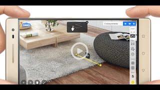 Google Tango Ile Artırılmış Gerçeklik Demosu