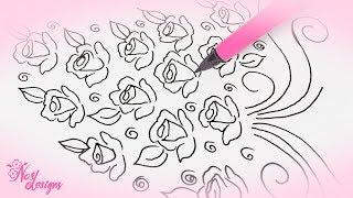 Nas Designs Tutorial 03: Roses