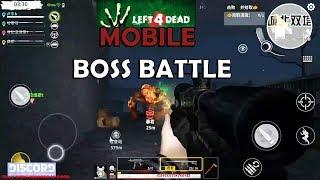 HOT NEWS 😻: LEFT 4 DEAD MOBILE : Code: Z  - BOSS BATTLE GAMEPLAY 3 60fps