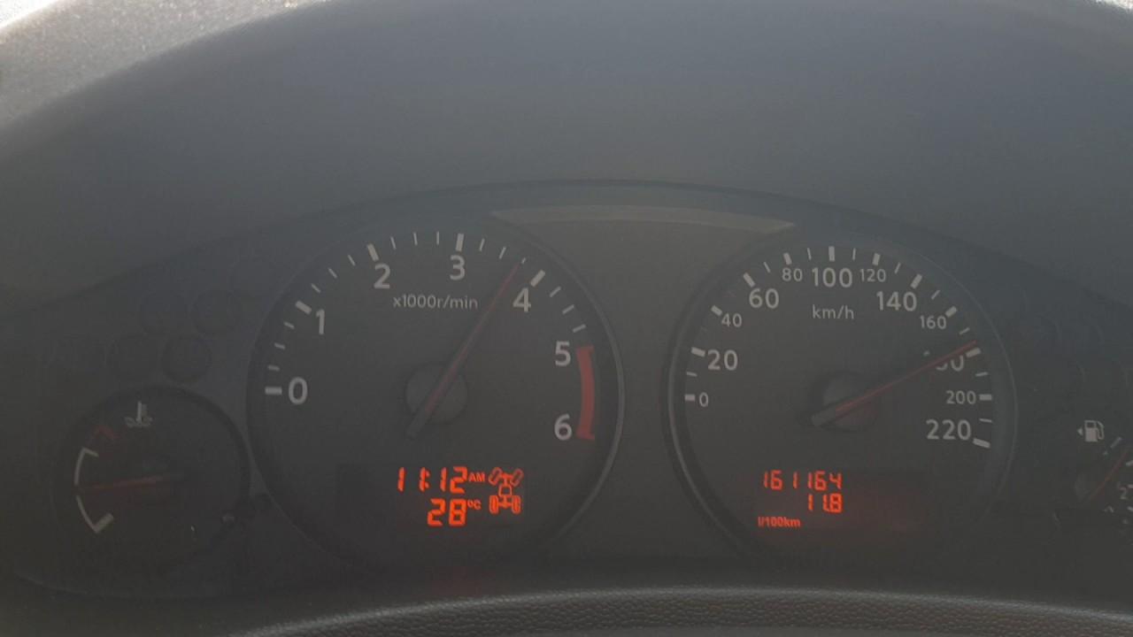 Nissan Navara d40 problem (engine light)