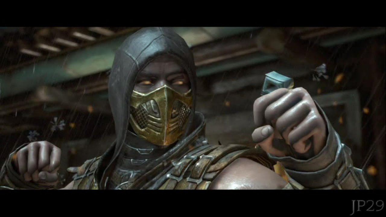 mortal kombat x scorpion all intro dialogues mkx youtube