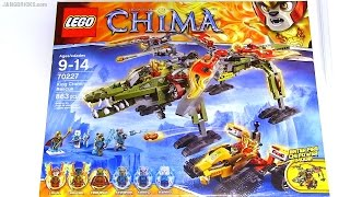 Built In 60 Seconds: Lego Chima King Crominus' Rescue 70227