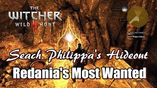 The Witcher 3 Wild Hunt Open Philippa's Hideout l Redania's Most Wanted