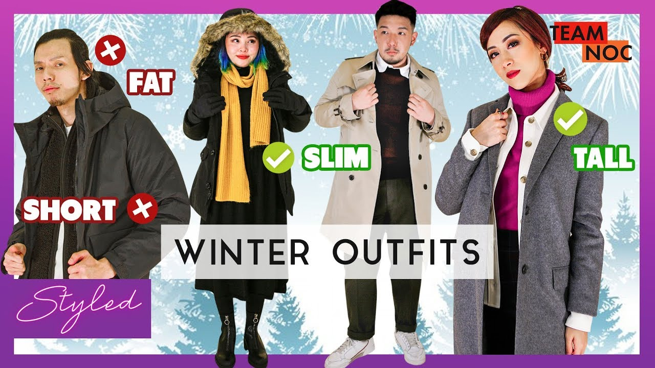 [VIDEO] - Winter Outfits To Look Taller And Slimmer 1