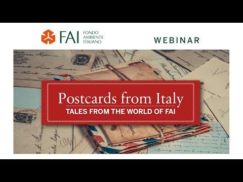 FAI Webinar - Postcards from Italy<br><br>Palazzo ...
