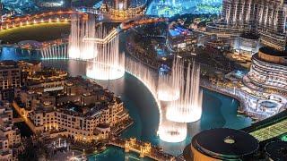 The Dubai Fountain | amazing show + beautiful song