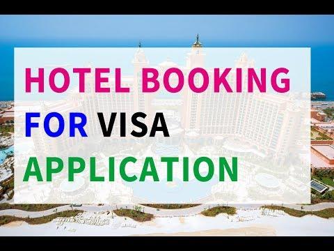 Hotel Booking For Visa Application - Schengen Visa Travel