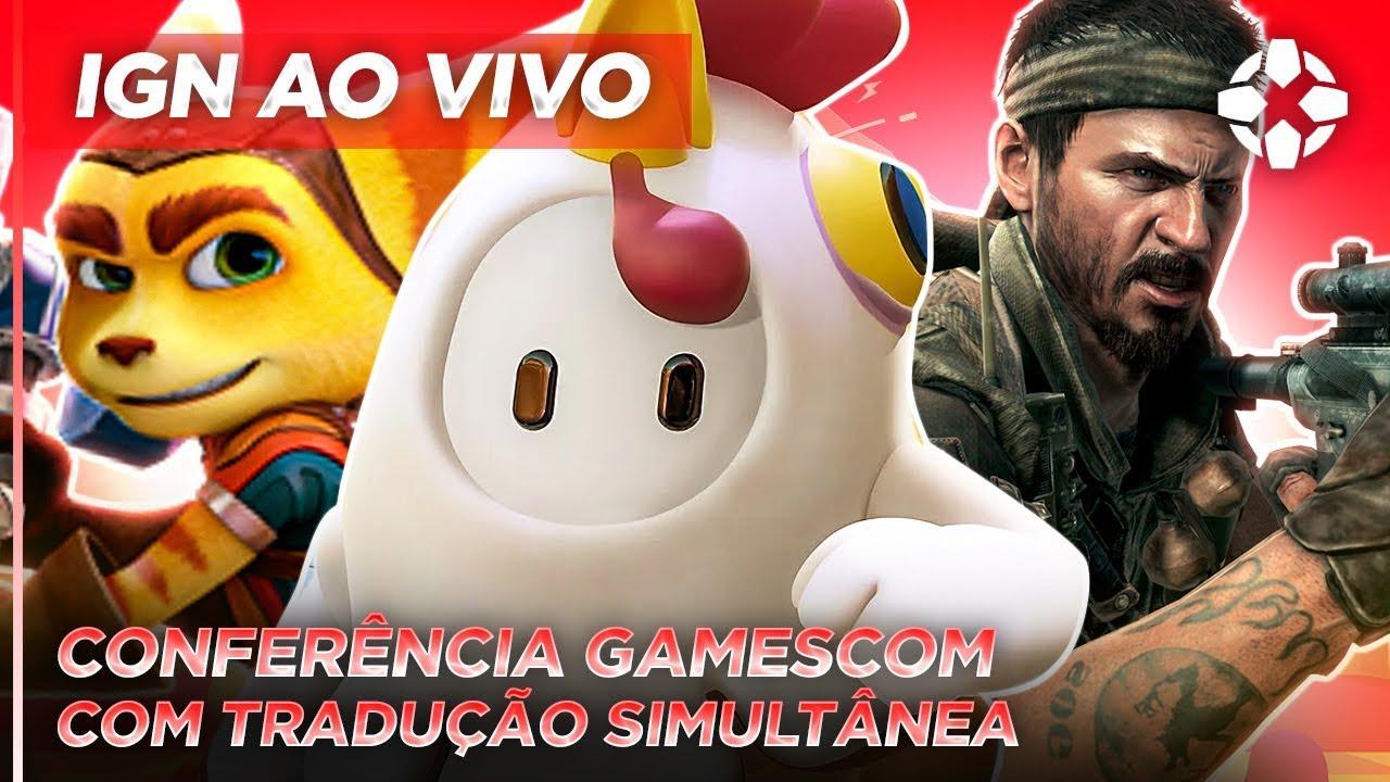 GAMESCOM 2020 | CONFERÊNCIA DUBLADA EM PORTUGUÊS | IGN AO VIVO