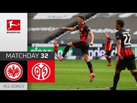 Outrageous Goal saves a point in race for CL | Frankfurt - Mainz | 1-1 | All Goals | MD 32 – 20/21