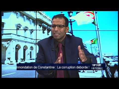 TOP 3  Innondation de Constantine : La corruption deborde !
