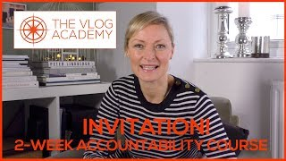 Video blogging course for business - 2-Week Accountability Online Course