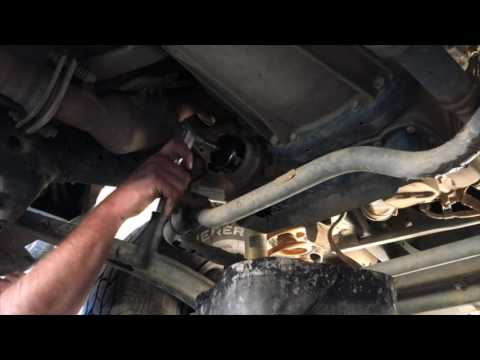 How To Change A Vdj79 Landcruiser Oil Filter Youtube