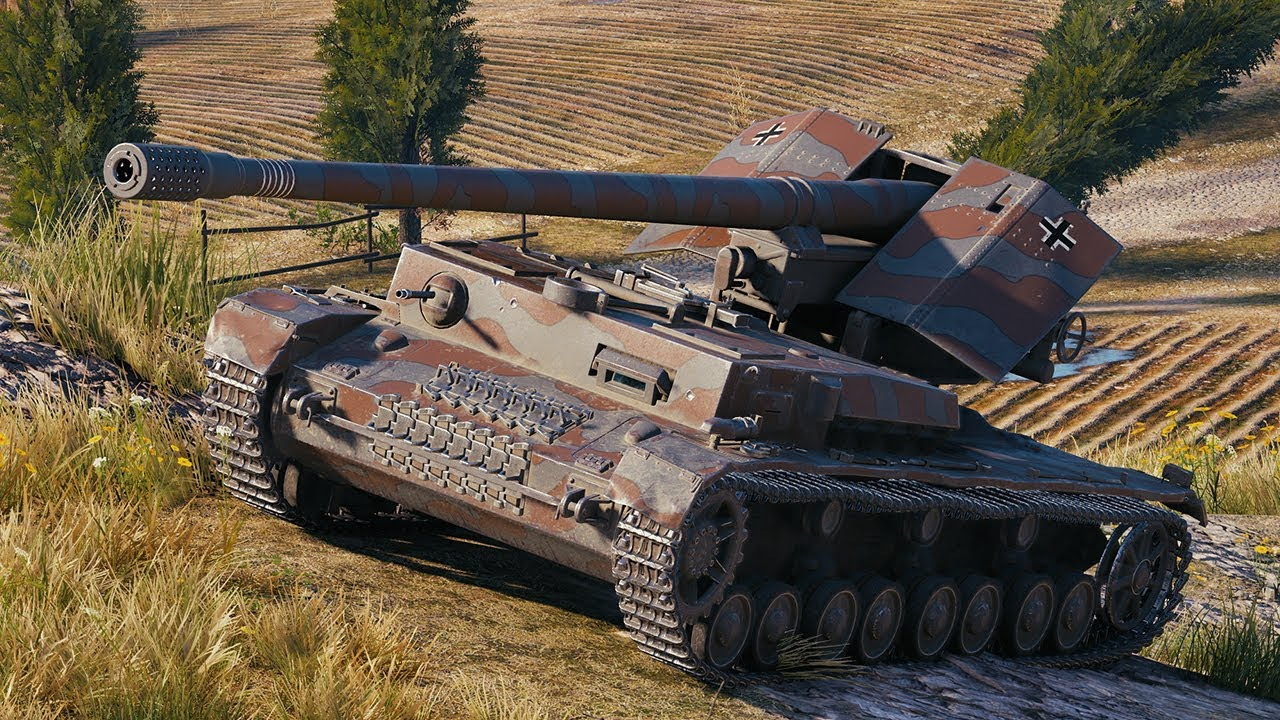 World of Tanks Waffenträger auf Pz  IV - 7 Kills 8,8K Damage