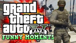 GTA V: Funtage! (Grand Theft Auto 5 Funny Moments)