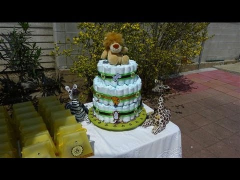 Baby Shower Party Ideas Jungle Or Safari Themed Shower Part I