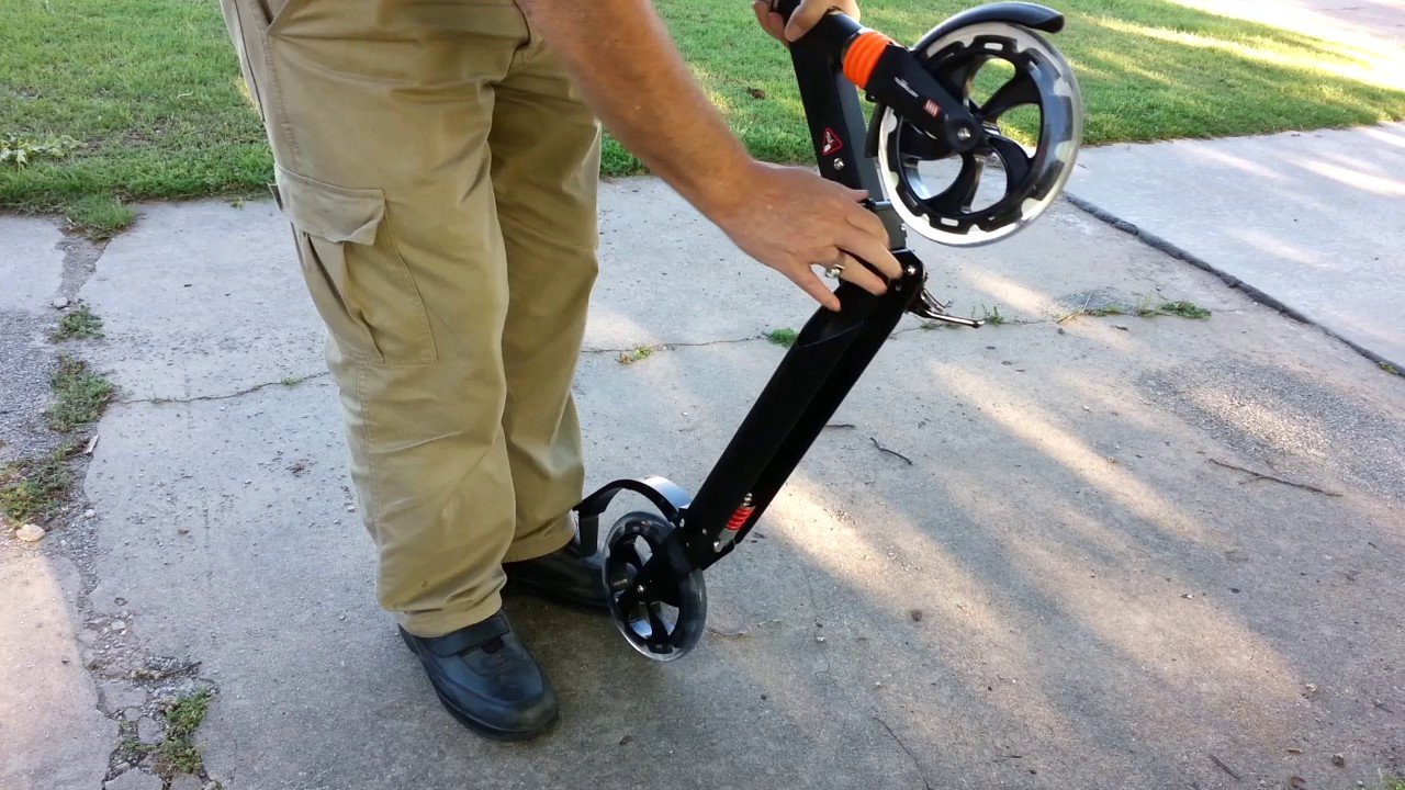 Ancheer Kick Scooter Supports 220lbs B01ijy0bn4
