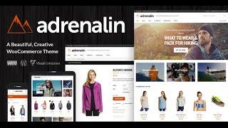 Adrenalin v1.9.4 – Multi-Purpose WooCommerce Theme